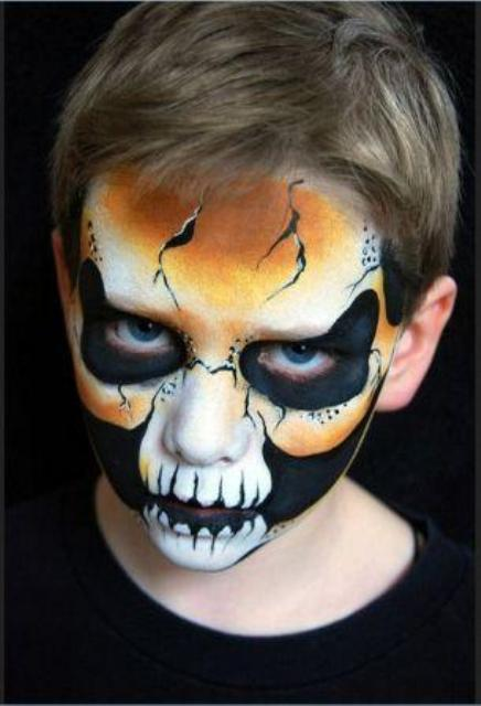Halloween Face Painting Pictures