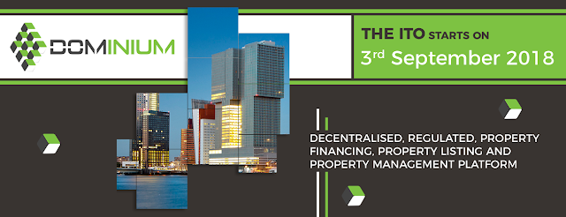 Dominium is a platform that helps the public to finance property, register and also property management, which includes all circles, all nations and recording agents that are all implemented in a distributed ledger, namely blockchain