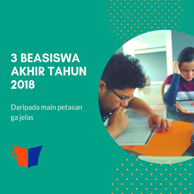 beasiswa 2018