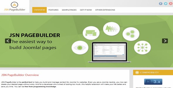PageBuilder Pro v1.0.7 – JoomlaShine Extension For Joomla 3.x