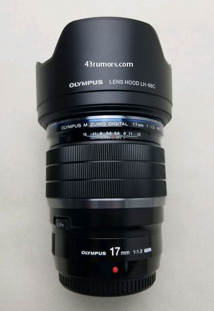 Объектив Olympus M.Zuiko 17mm f/1.2 Pro