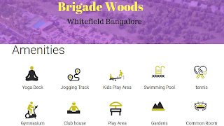 Brigade Woods Whitefiels - Coming with latest Amenities