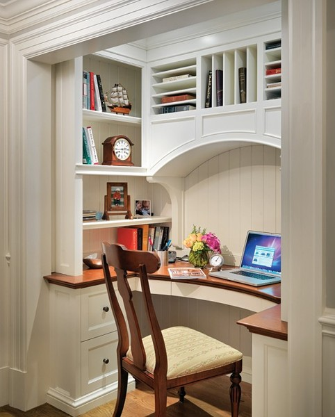 Home Office Space Ideas: Connecting The Dots On Decorating: The Art Of A Home Office