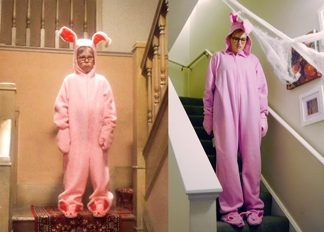 A Christmas Story Bunny Suit.Kristina Does The Internets My Halloween Costume Ralphie