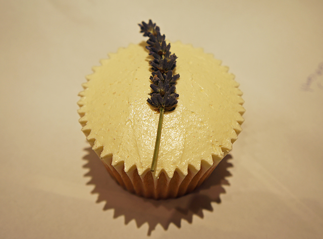 Neal's Yard Remedies Lavender Cupcake Super Foods Event