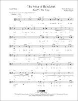 The Song of Habakkuk - V