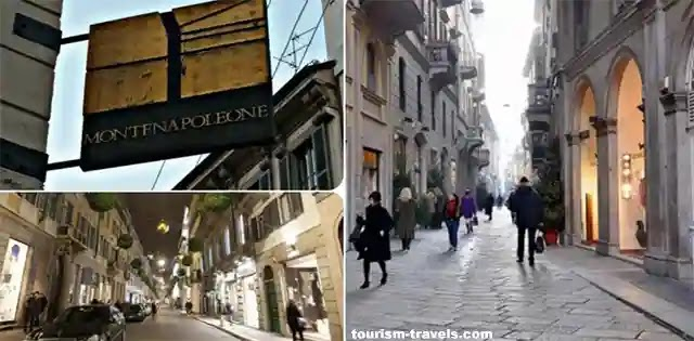 شارع مونتي نابوليون ( Montenapoleone )