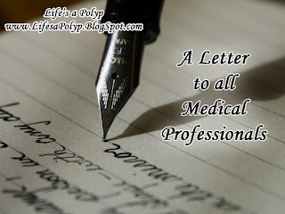 letter to medical professionals life's a polyp