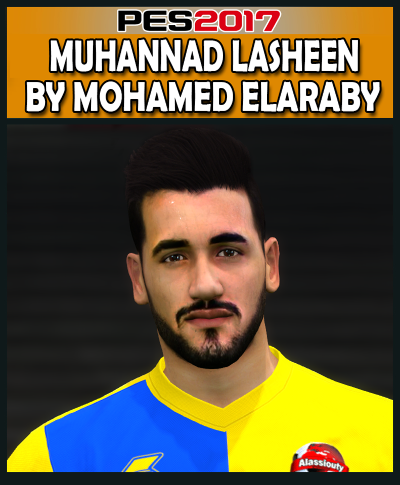 PES 2017 Muhannad Lasheen (Alassiouty Sport) Face by M.Elaraby Facemaker