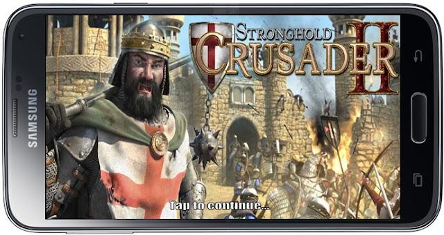 طريقة تشغيل لعبة صلاح الدين stronghold crusade على الاندرويد بدون حاسوب