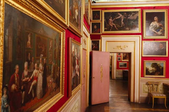 Interior da Casa Martelli em Florença