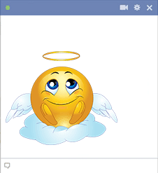 Angel Facebook Sticker