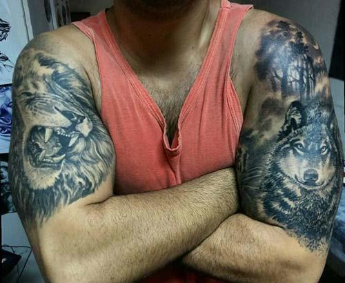 erkek omuz dövmeleri man shoulder tattoos 4