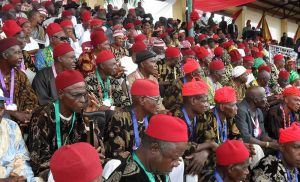 Forget about Biafra, fight for restructuring - Ohanaeze allegedly tells Igbos