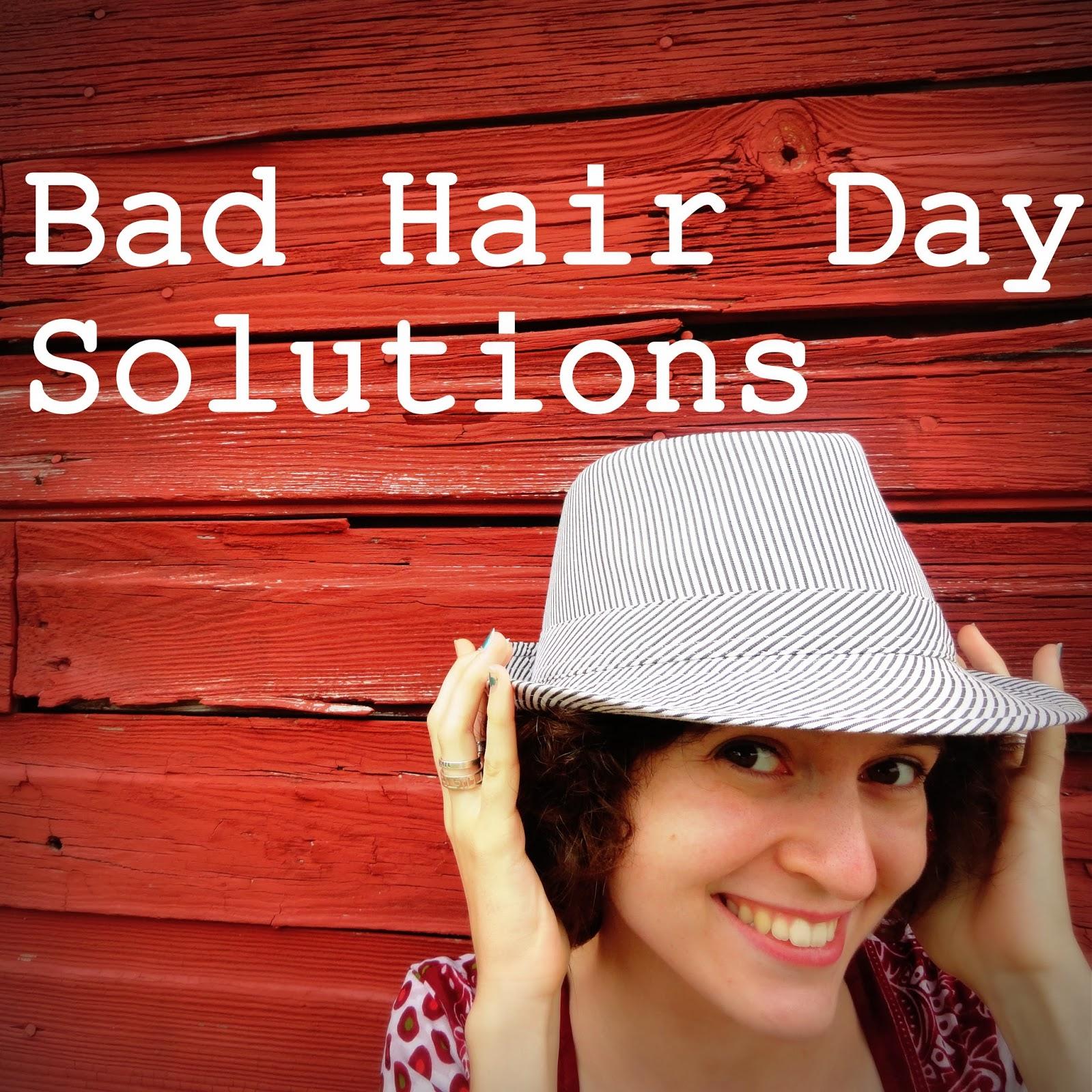 The Random Writings Of Rachel 5 Bad Hair Day Solutions