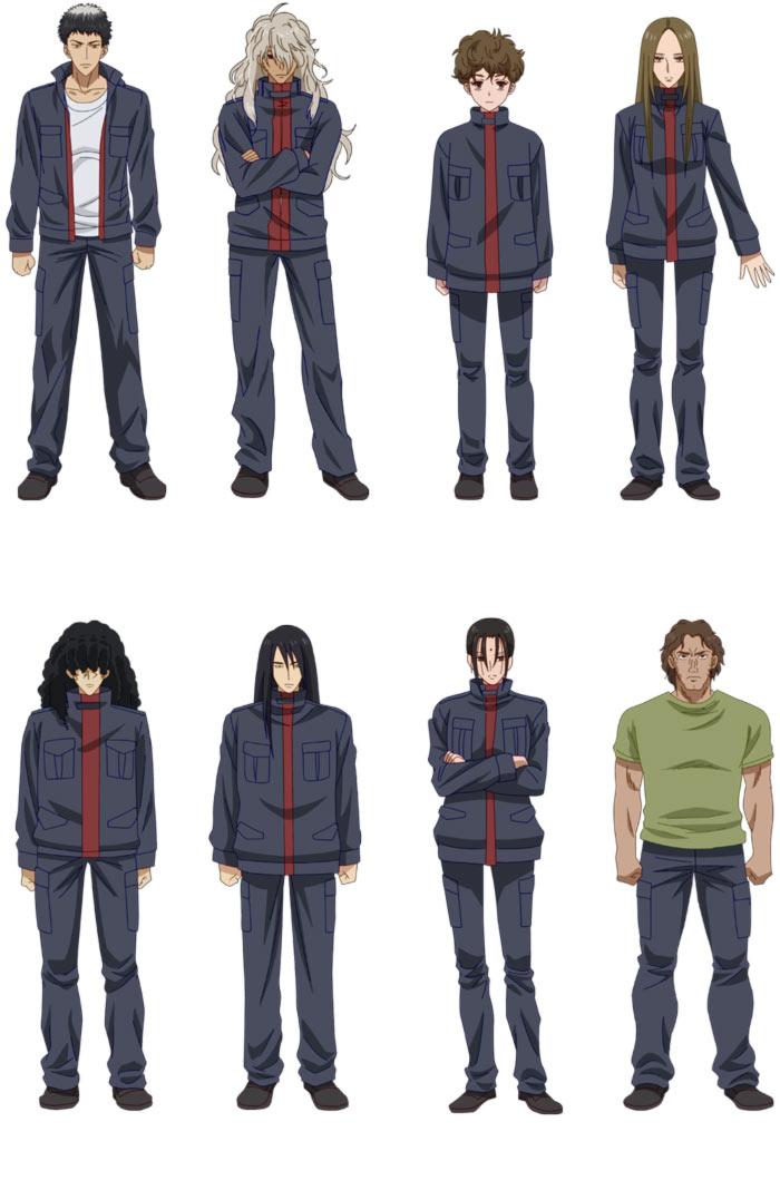 7 Seeds anime - equipo Verano A