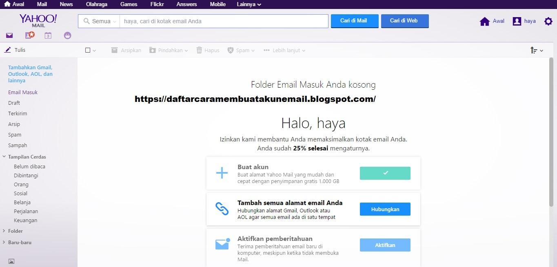 CARA DAFTAR YAHOO MAIL INDONESIA   DAFTAR CARA MEMBUAT