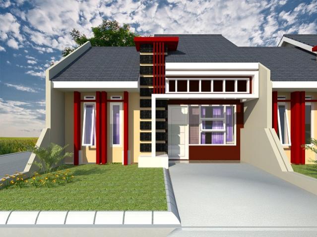 gambar teras rumah minimalis dengan taman