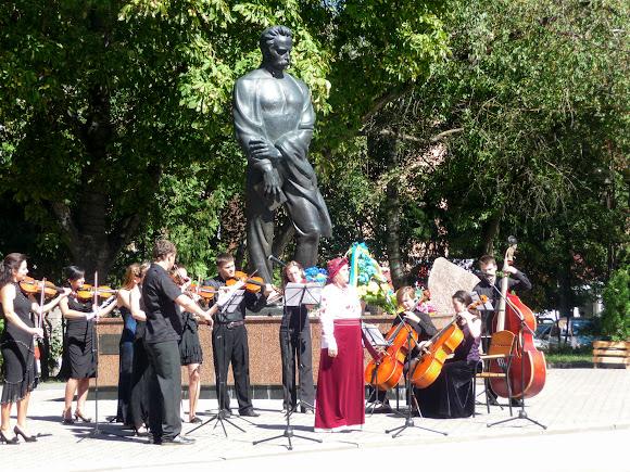 Тернополь. Памятник И. Я. Франко