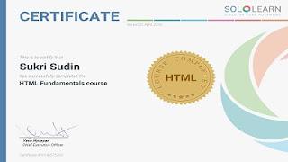 sertifikat html sukri sudin