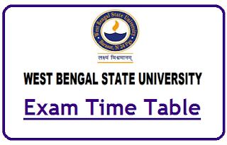 Barasat University Exam Routine 2019
