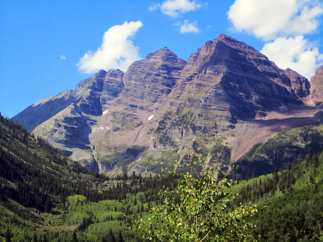 the yellow binding: Aspen - Maroon Bells Camping