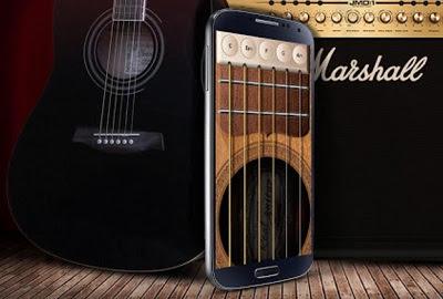 Aplikasi Android Gitar Listrik dan Akustik