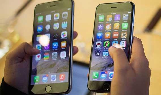 iPhone 6 de la empresa Apple