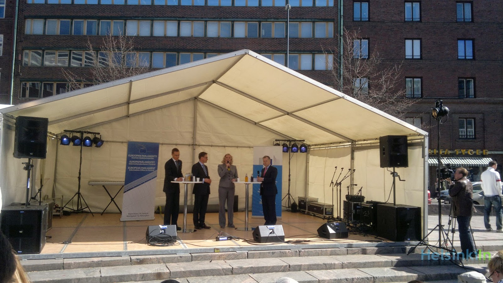 Europe Day 2012 with Alexander Stubb, Jyrki Katainen and Jutta Urpilainen