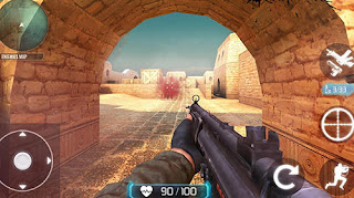 GAme Counter Terrorist SWAT Strike V1.1 MOD Apk ( Unlimited Ammo )