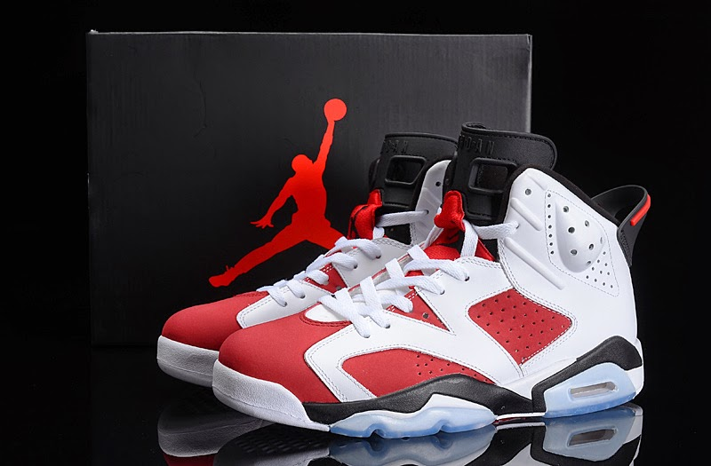 "a9106628131102 Authentic Air Jordan 6 Retro ""Carmine"" 2014"