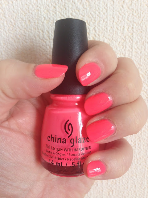 NOTD - China Glaze Shell O