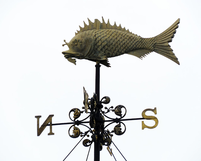 Old Billingsgate Market weathervane, Old Billingsgate Walk, City of London, London