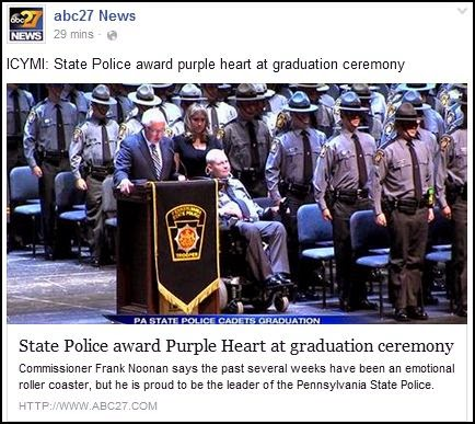 Solomon's words for the wise: Pennsylvania State Police