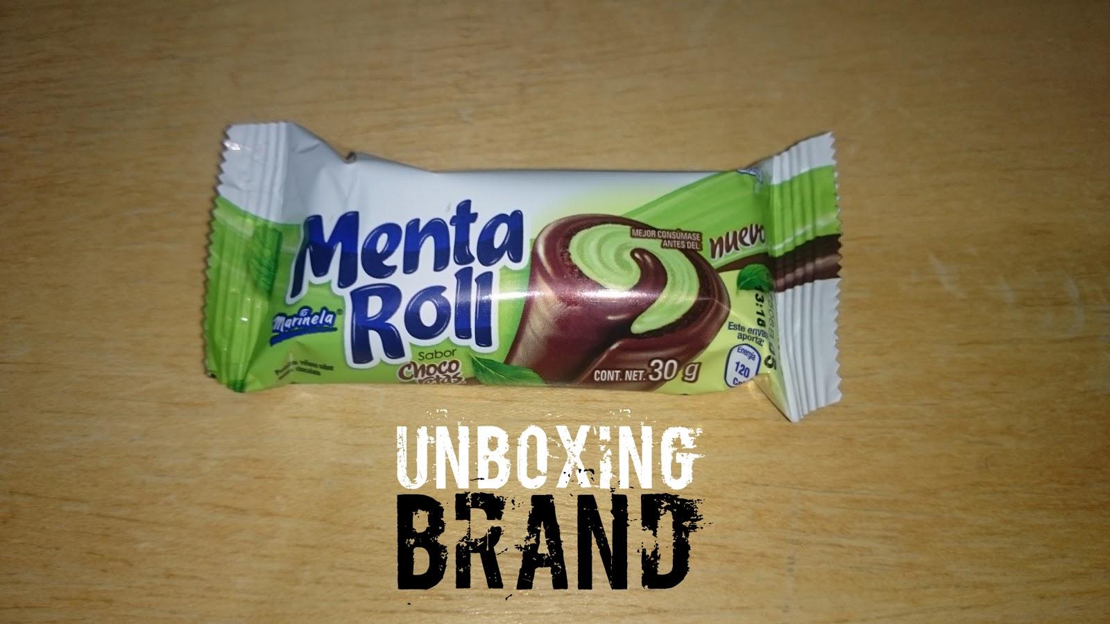 Unboxing Brand Unboxingsea Menta Roll Marinela