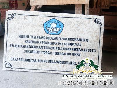Prasasti Di Tulungaguung, Harga Prasasti Marmer 2018, Grafir Papan Nama Prasasti
