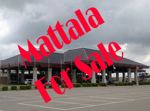 Mattala Airport for sale