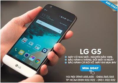 LG G5 cũ giá bao nhiêu