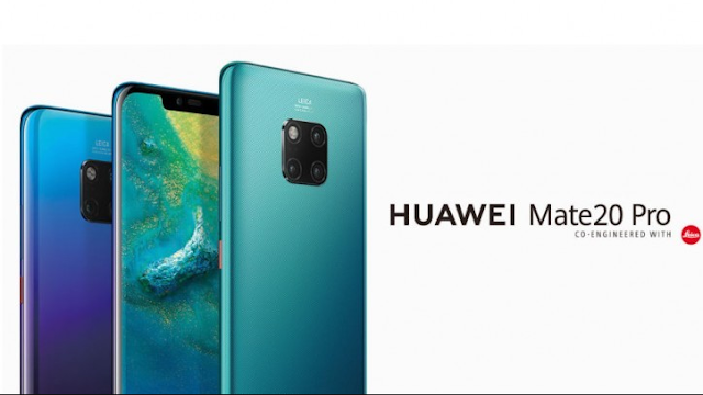 Huawei Mate 20 Pro 40 Megapixel Launch in India with the advantage of Triple Rear Camera Setup