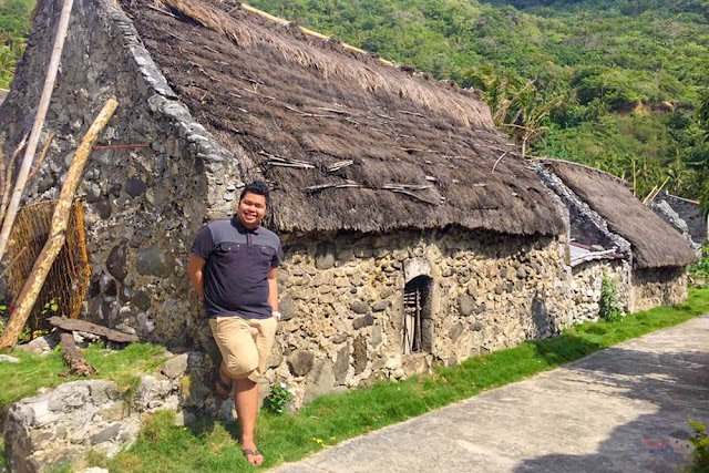 Fitz Balba in Brgy. Chavayan Stone Houses - Batanes