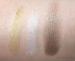 p2 color trilogy eye shadow swatches