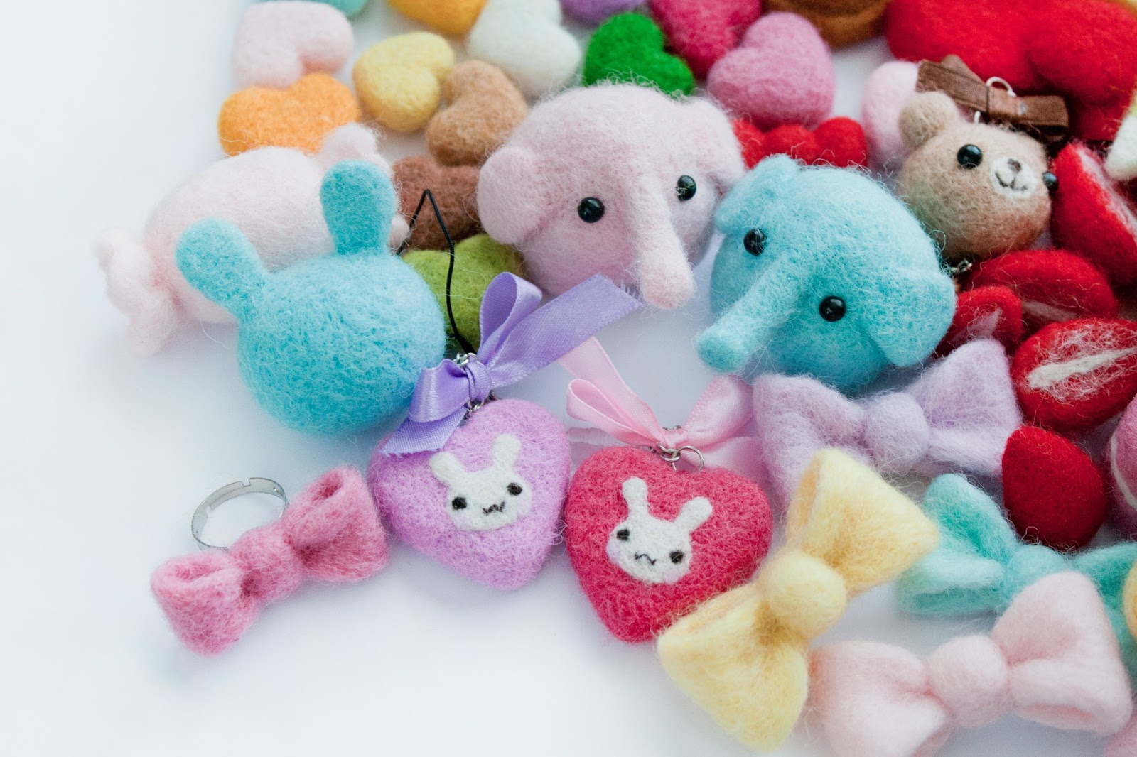 cute needle felting felt cutest things stuff craft crafts wool these