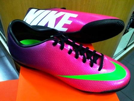 62bf94bc0efa Sepatu Futsal Nike Mercurial Victory IV IC - Fireberry Green Red ~ kios- sepatu
