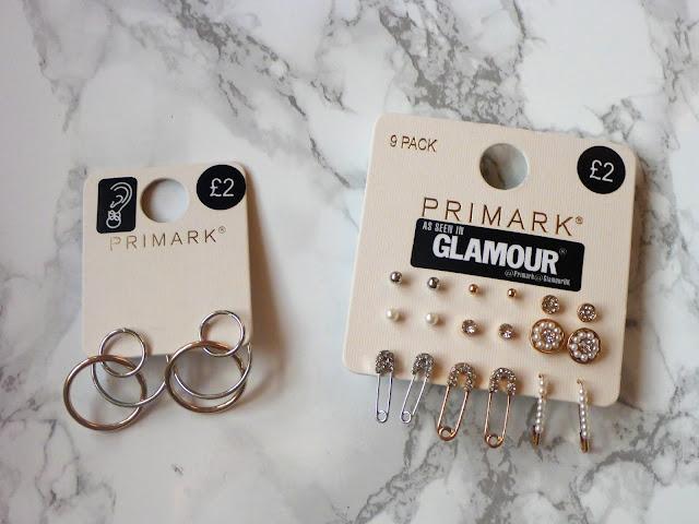 Primark ear rings