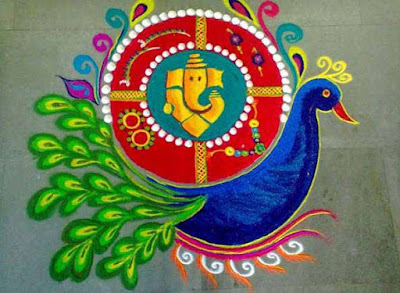 Best Rangoli Designs for Diwali 2018 for home