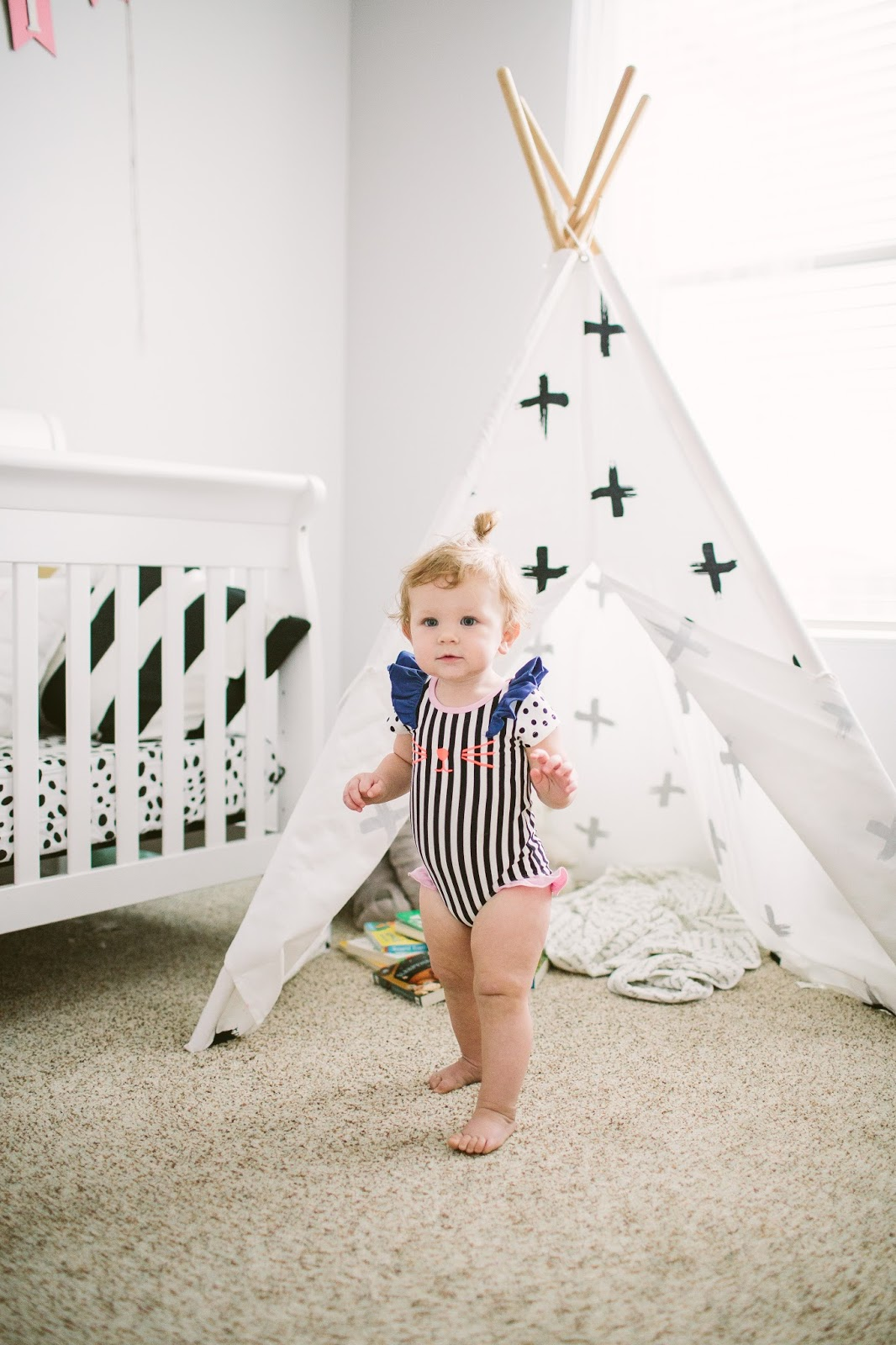 Baby Teepee, Utah Fashion Blogger, Baby Nursery