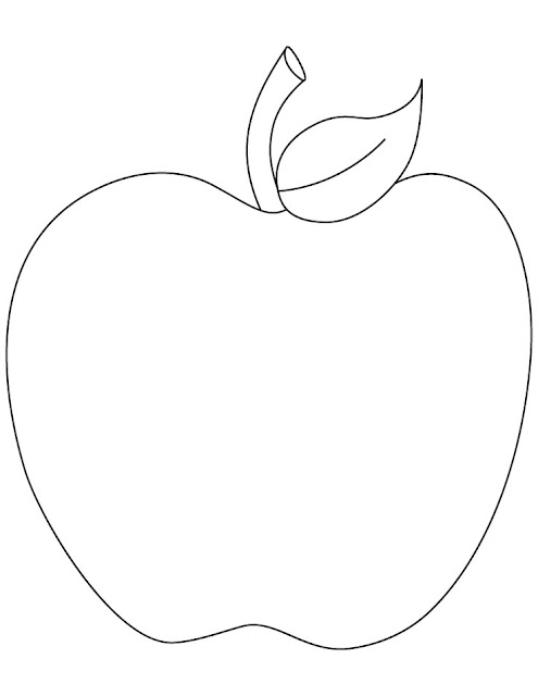 a apple coloring pages - photo #28