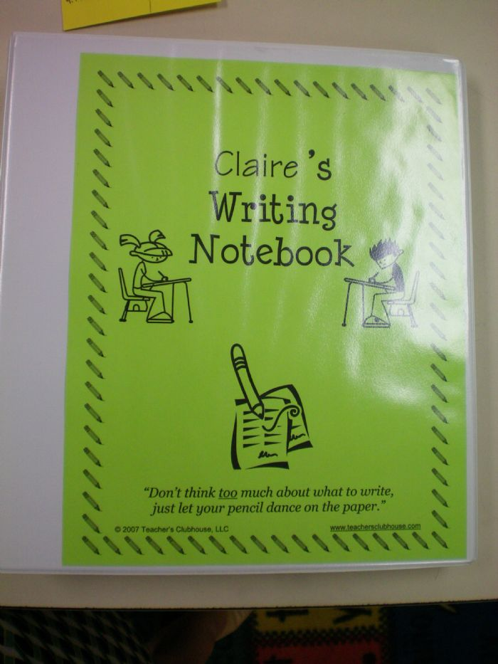 Writing Workshop Series: Post #1 Writers' Notebooks ...