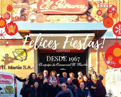 Felices Fiestas 2016-17 - Comercial H Martín - Dulces El Patriarca BCN