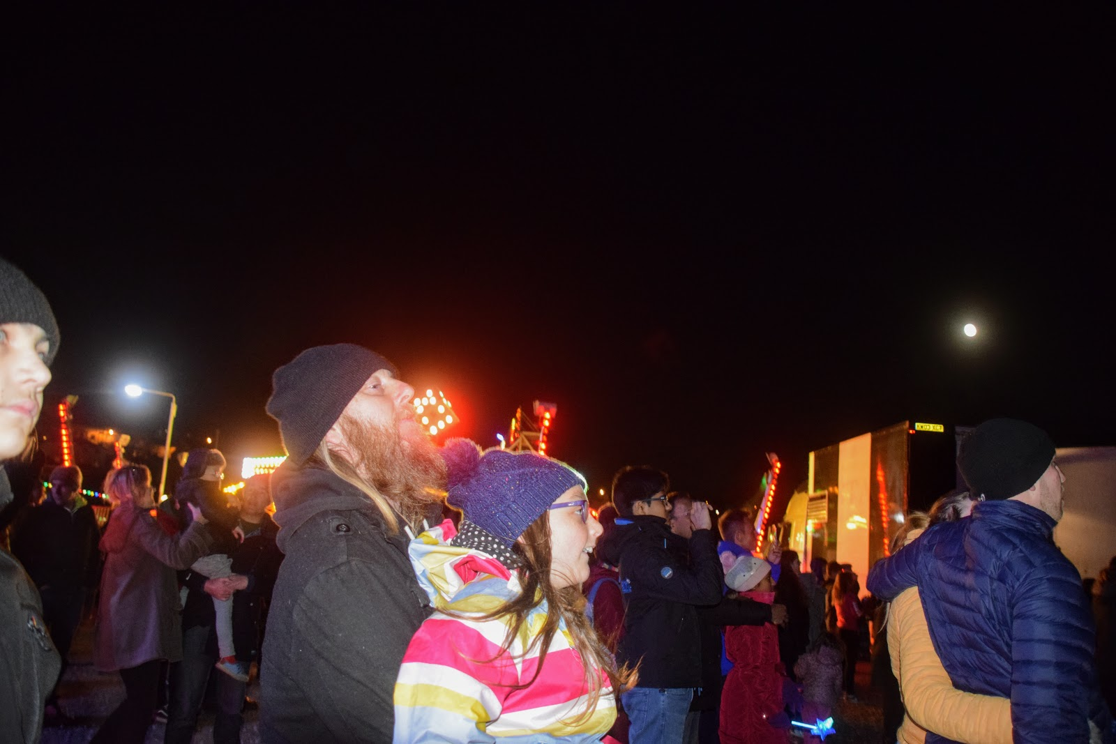 , Bonfire Night 2017 at Milford Marina